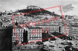 Piazza Del Municipio And Castel Sant'elmo c.1920 , Naples