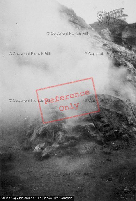Photo of Naples, Solfatara Di Pozzuoli Volcano c.1930