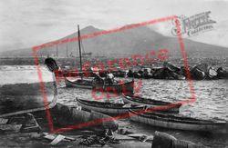 Vesuvius From Santa Lucia c.1920, Naples