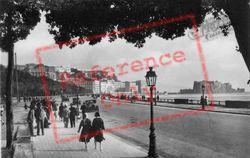 Via Caracciolo And Castel Dell'ovo c.1920, Naples