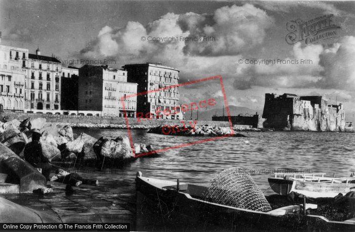 Photo of Naples, Via Partenope And Castel Dell'ovo c.1920