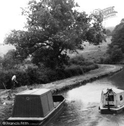 Napton On The Hill, On The Canal c.1965