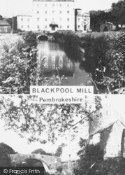 Narberth, Blackpool Mill c.1960