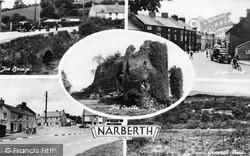 Narberth, Composite c.1955