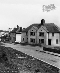 Narberth, Coxhill Council Estate c.1955