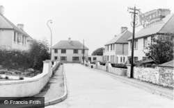 Narberth, Croft Villas c.1955