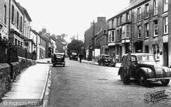 Narberth, High Street c.1955