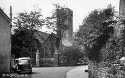 Narberth, St Andrew's Church c.1955
