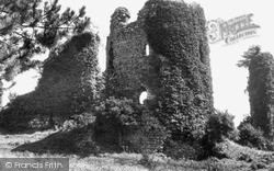 Narberth, The Castle c.1955