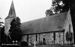 Nash, St John The Baptist Church c.1965