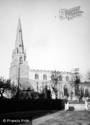 Nassington, All Saints Church c.1950