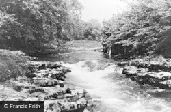 Natland, The River Kent c.1955