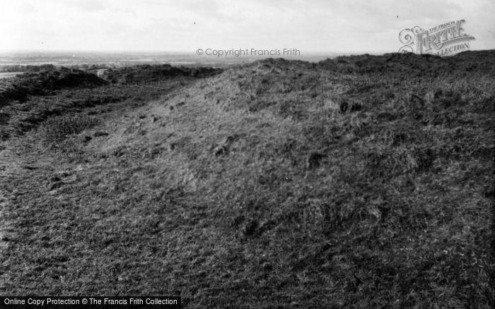 Photo of Navan, Hill Of Tara, Forradh (Royal Seat) c.1957