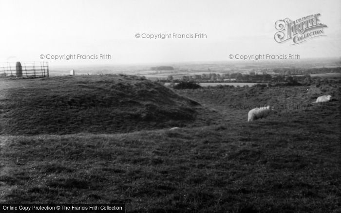 Photo of Navan, Hill Of Tara, Teach Chormaic (Cormac's House) c.1957
