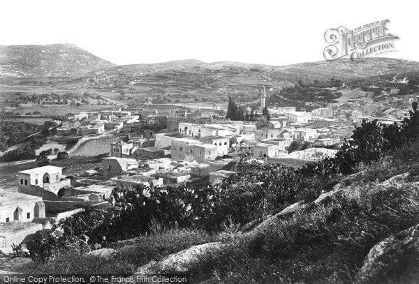 Photo of Nazareth, From The North West 1857