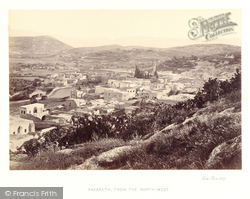 Nazareth, From The North West 1857