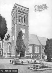 Neath, Dyffryn Church c.1960