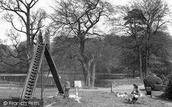 Neath, Gnoll Park c.1955