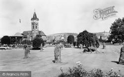 Gorsedd Circle, Victoria Gardens c.1960, Neath