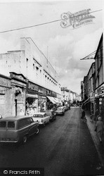 Neath, Green Street c.1965