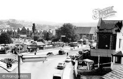 Neath, Looking Towards Victoria Gardens c.1960
