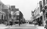 Neath, Orchard Street and Gwyn Hall c1950