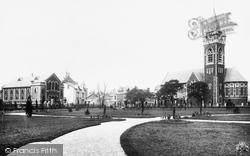 Neath, St David's Church 1898