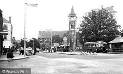 Neath, St David's Church c.1960
