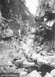 Neath, Sychnant Gorge 1898