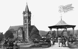 Neath, Victoria Park c.1955