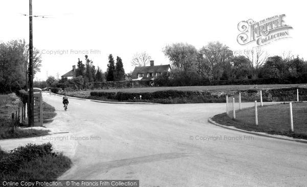 Photo of Nedging Tye, The Village c.1960