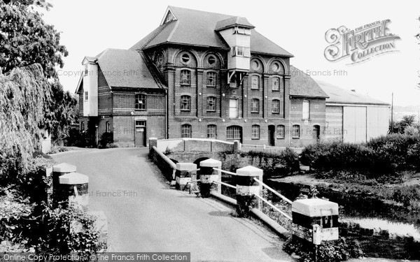 Needham Market,Hawks Mill c1955,Suffolk
