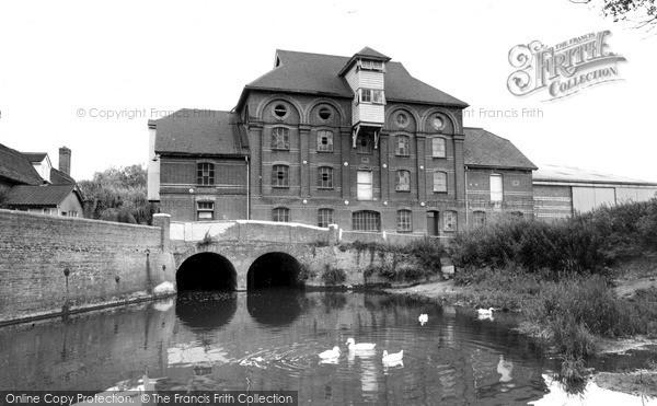 Needham Market, Hawks Mill c1960