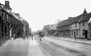 Needham Market, High Street 1922