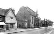 Needham Market, St John's Church 1922