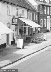 The Post Office And The Toy Shop c.1965, Needham Market