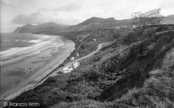 Nefyn, Cliffs And The Rivals 1930