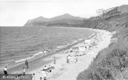 Nefyn, The Beach And Rivals c.1955