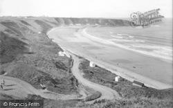 Nefyn, The Beach And Screw Road 1930
