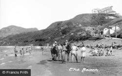 Nefyn, The Beach c.1955