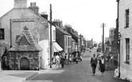 Nefyn, Well Street c1955