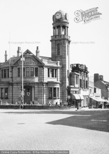 Photo of Nelson, Clock Tower And Barclays Bank 1961