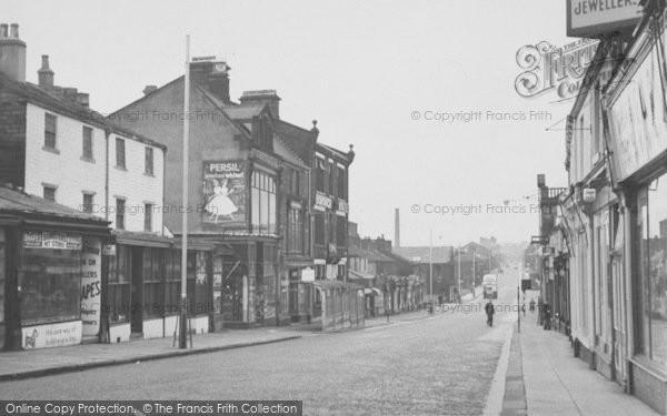 Photo of Nelson, Leeds Road 1957