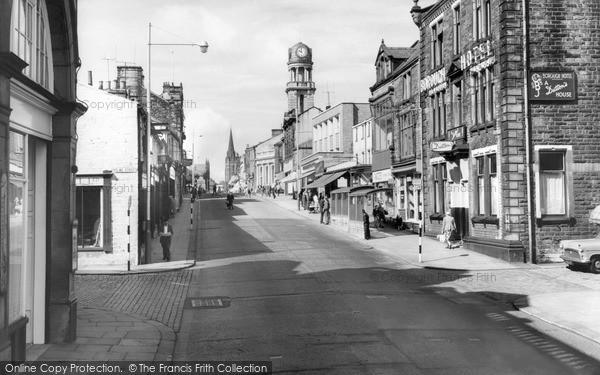 Photo of Nelson, Leeds Road 1961