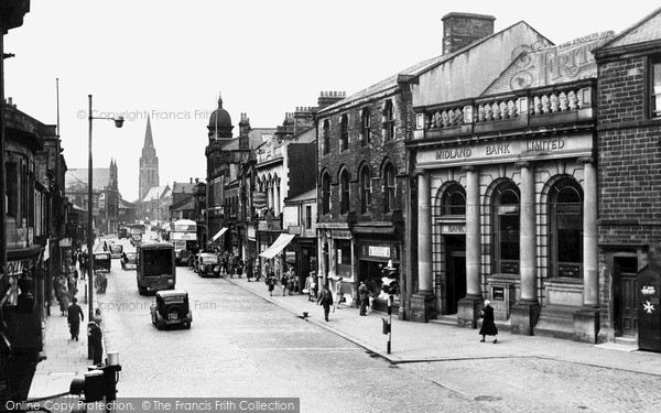 Photo of Nelson, Manchester Road 1950