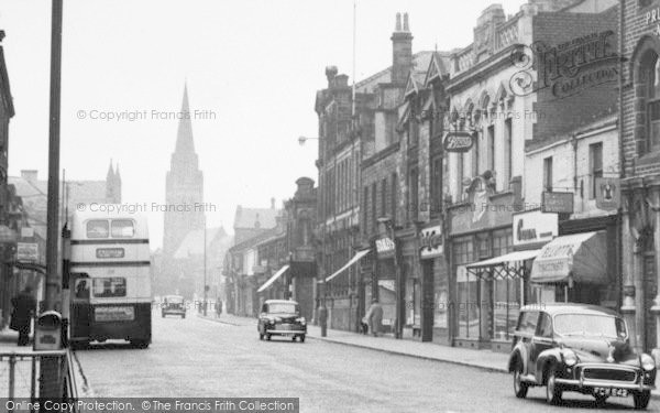Photo of Nelson, Manchester Road 1957