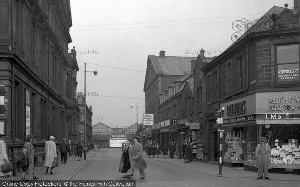 Photo of Nelson, Market Street 1950