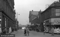 Nelson, Market Street 1950