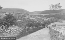 Nelson, Pendle From Noggarth Top 1954