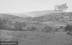 Nelson, Pendle From Rough Lee 1954